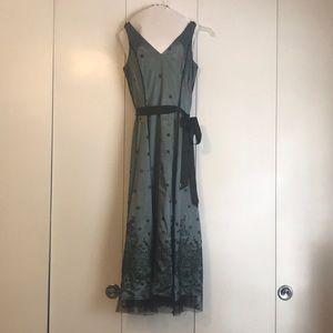 Blue and black shirt formal dress size 12
